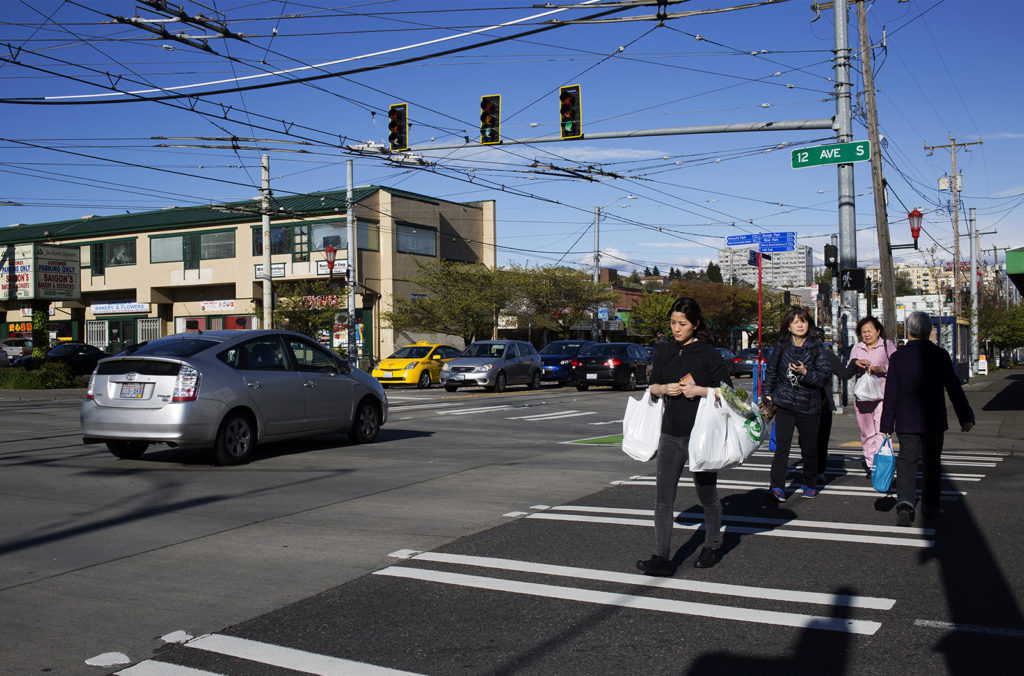 Developers have been eyeing Seattle's Little Saigon district. (Diana Nguyen/NextGenRadio)